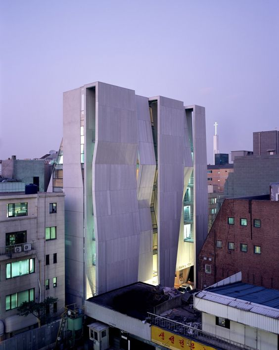 Gallery Yeh in Seoul, South Korea by Unsangdong Architects