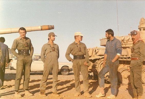 Conveying the AMX-30 tanks Jeddah to Tabuk 1976.