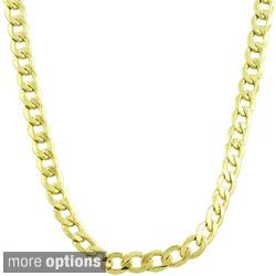 Shop for Fremada 14k Yellow Gold 3mm Curb Chain (18-24 inches). Get free delivery at Overstock.com - Your Online Jewelry Destination! Get 5% in rewards with Club O!
