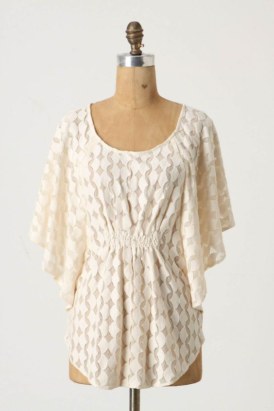 This is screaming for a statement necklace and some Bells ... I love this top for you!