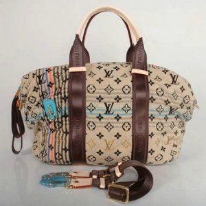Louis Vuitton Spring and Summer Tuareg handbag M40360 blue [M40360-11557] :