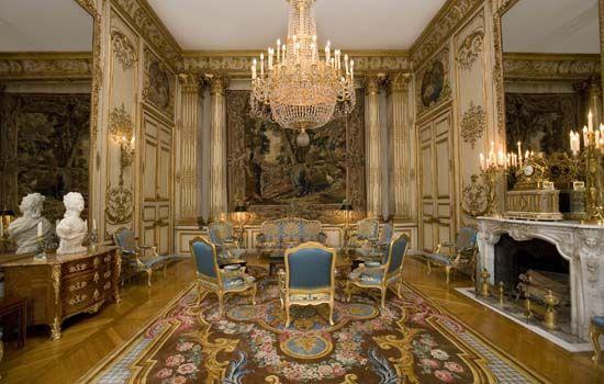 Le salon pompadour madame de pompadour favorite du roi for Chambre de parade