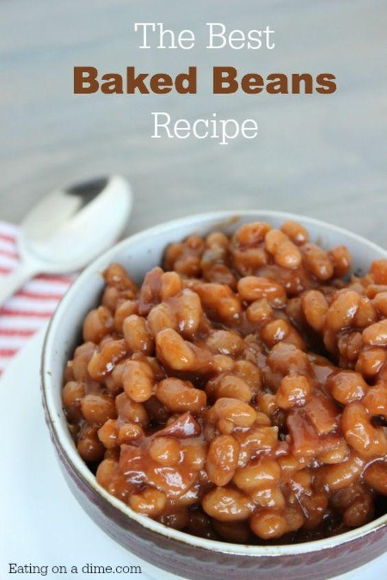 Baked beans, Easy baked beans and Beans on Pinterest