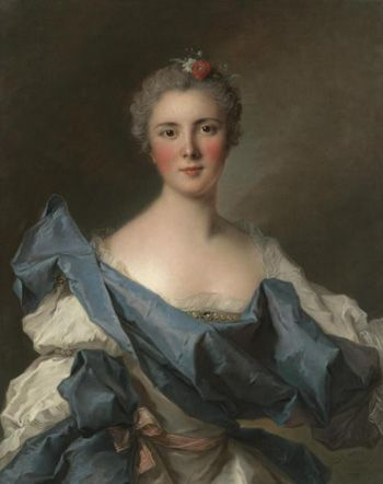 Marie Henriette de Polastron, Comtesse d'Andlau, in the household of Mesdames and exiled for showing the princesses a smutty book