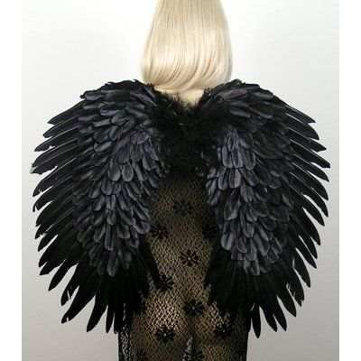Black Swan Costume Feather Wings | Black Swan / White Swan ...