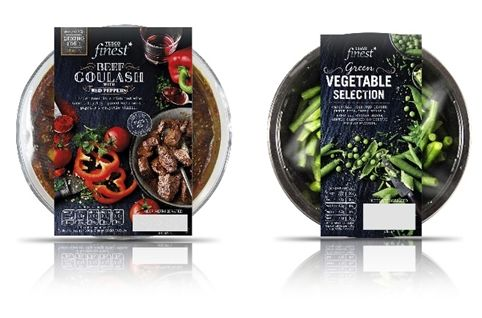 Tesco Finest Ready Meal Redesign time for lunch #packaging PD