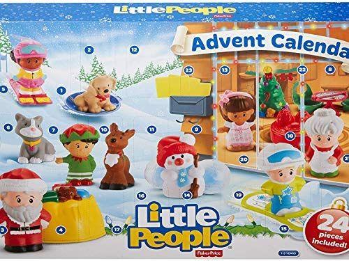 Amazon Com Fisher Price Little People Advent Calendar Toys