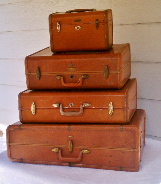 Pinterest the world s catalog of ideas for What to do with vintage suitcases