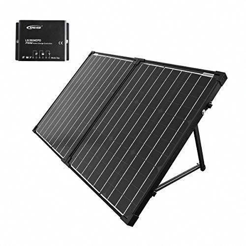 Acopower 100w Portable Solar Panel Kit Waterproof 20a Charge Controller For Both 12v Battery And Generato In 2020 Best Solar Panels Solar Panels Solar Panels For Home
