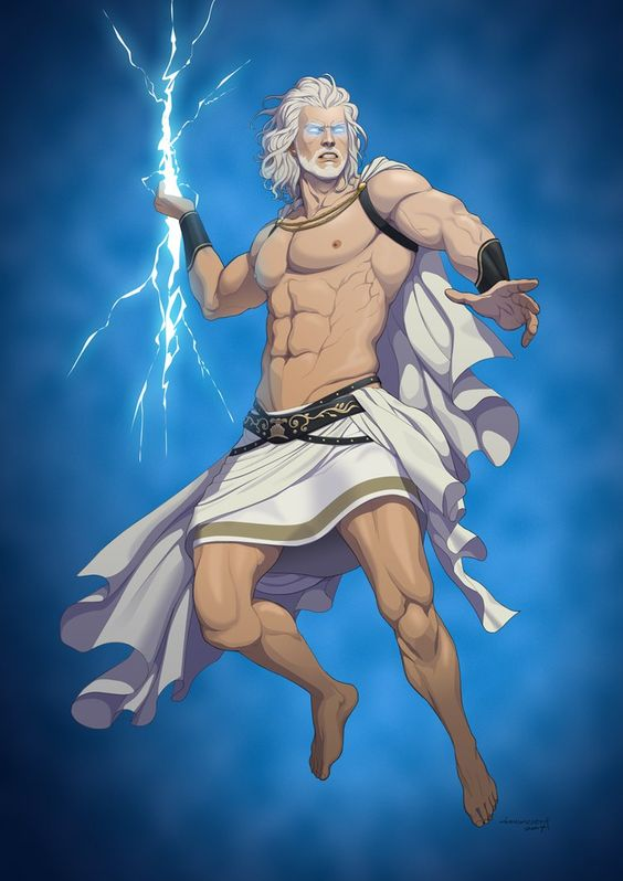 Revenge of the Pantheons : Zeus by doubleleaf
