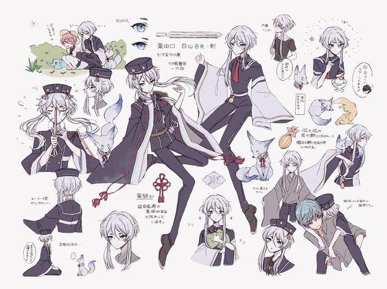 twitter touken ranbu anime anime fanart