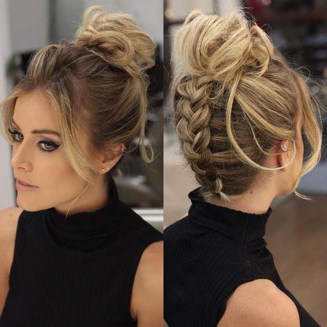 Como combinar o look com o penteado?