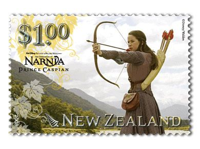 Susan, Prince Caspian Stamp- now why can't we have decent stamps like these?