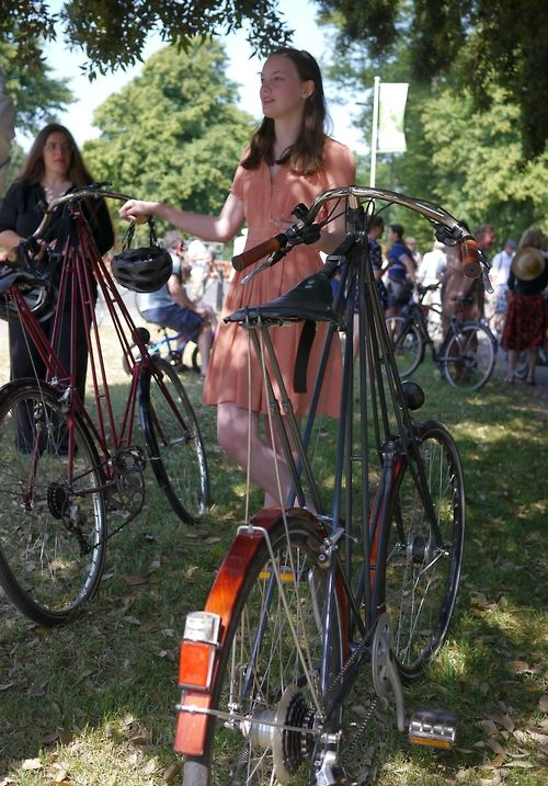 Pedersen bicycles at Bristol Vintage Velo