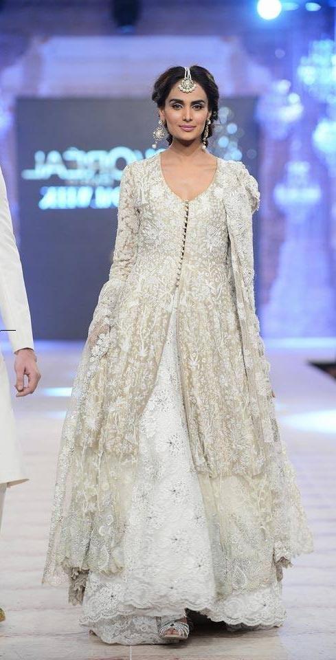 Pakistani designer dress by Nicky nina, bridal cuture week 2014 ...