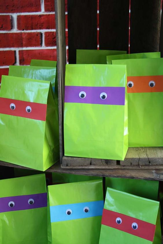Teenage Mutant Ninja Turtles Birthday Party Ideas | Photo 15 of 24 | Catch My Party: