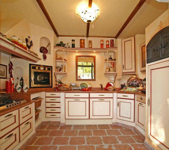 Details zu Landhausküchen mediterran, Villa Medici Landhausküche ...