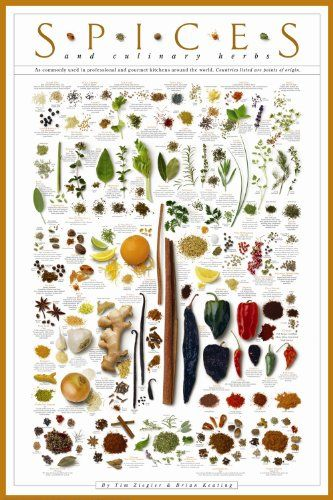 Spices & Culinary Herbs
