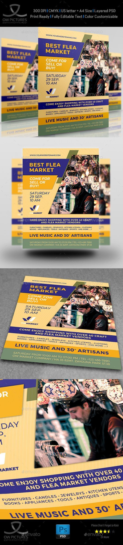 Free Flea Market Flyer Template Pdf In 2021 Flyer Template Flyer Marketing Flea market flyer template free