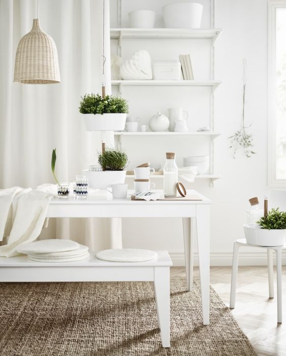 White dining rooms, Dining rooms and Catalog on Pinterest