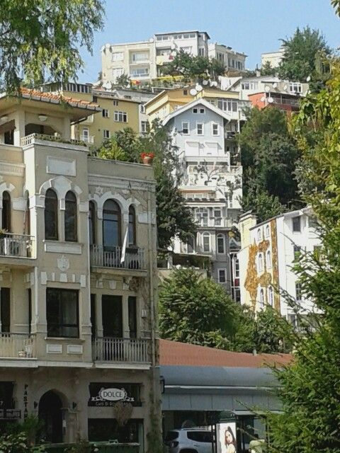 Barrio de Beşiktaş, Estambul, Turquía