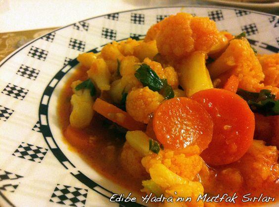Karnıbahar Yemeği | Edibe Hadra'nın Mutfak Sırları
