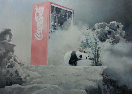Yang Fangwei, oil on canvas