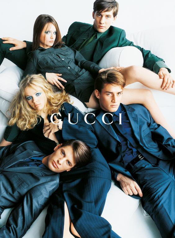 Tom Ford for Gucci S/S 1996  by Mario Testino