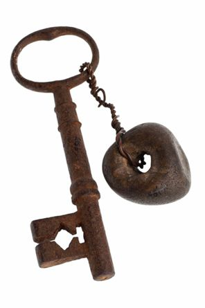 Lucky Talisman:   The Curved Key