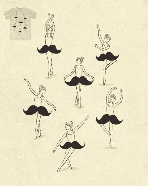 Ballet of the stache