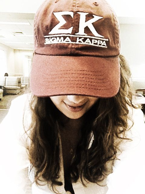 That fateful day all the pieces fell together. Sigma kappa lovin #sigmakappa