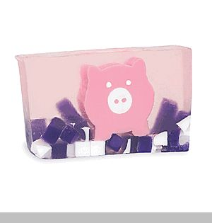 Pink Pig Soap - Pink lemonade bathes our pretty pink pig.