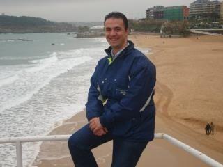 En Santander, playa del Sardinero