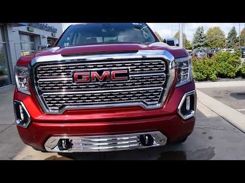 2019 Gmc Sierra 1500 Denali Crew Cab Short Box 4wd New Truck For Sale Hudson Wisconsin Youtube New Trucks For Sale New Trucks Trucks For Sale