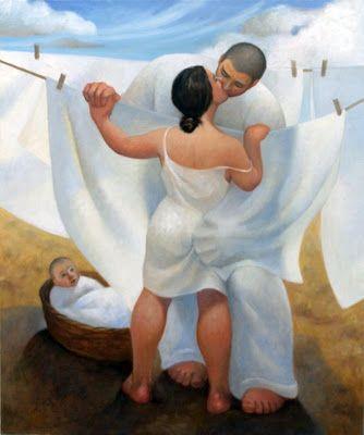Il mondo di Mary Antony: Il miracolo dell'amore nei dipinti di Margarita Sikorskaia (Russia)