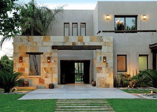 C 0018 2 2 001 casas pinterest entrada fachadas y casa for Fachadas de entradas de casas