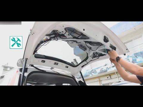2019 Honda Cr V Electric Tailgate Installation Part 2 2 Honda Cr Honda Installation