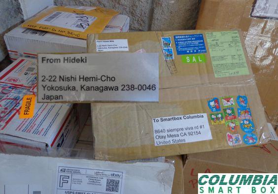 ¿Compras personales fuera de México? Columbia Smart Box te tiene Cubierto, aquí la compra para uno de nuestros clientes ¡con un vendedor en Japón!