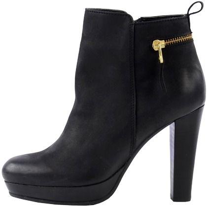 Stiefeletten mit Reißverschluss - Schöne schwarze Stiefeletten von Sacha. Diese Stiefeletten haben ein trendiges Design und passt zu vielen Looks! - ab 119,99€