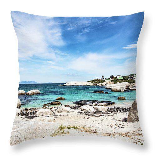 Boulders Beach Cape Town Throw Pillow For Sale By Scott Pellegrin In 2020 Boulder Beach Bouldering Pillow Sale