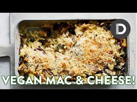 Mac Cheese Made Vegan Feat Bosh Tv Youtube Mac And Cheese Vegitarian Recipes How To Make Cheese