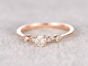 34+ Rosegold ring mit diamanten ideen