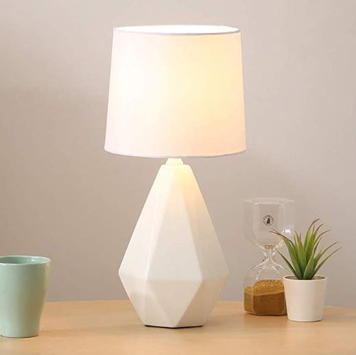 Table Lamp In 2020 Bedside Table Lamps Bedroom Bedside Table White Bedside Table