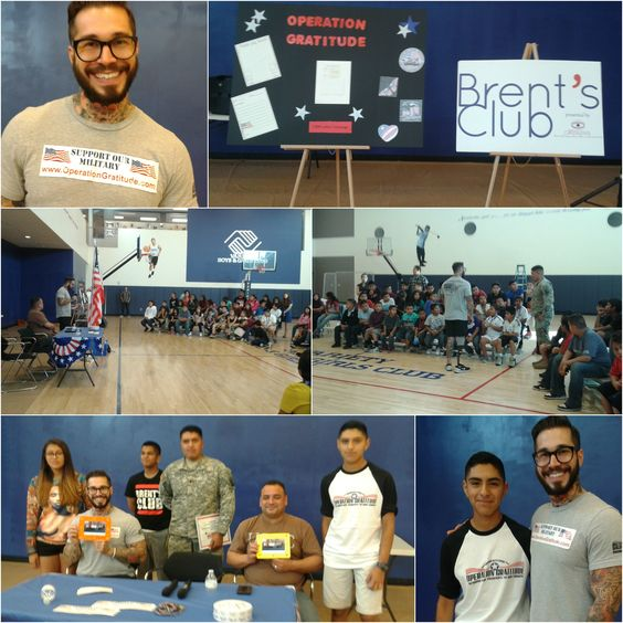 The Variety Boys & Girls Club started a 1,000 Letter Campaign -- writing letters to the troops that will be sent in Operation Gratitude care packages. We are grateful for the wonderful support from Veterans Alex Minsky and Robert Nieves, the Brent Shapiro Foundation and others!