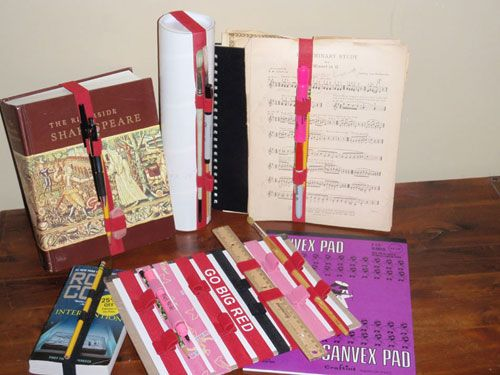 The Book Band-it: Book Band, Gift Wrapping Ideas, Travel Scrapbooks Journals