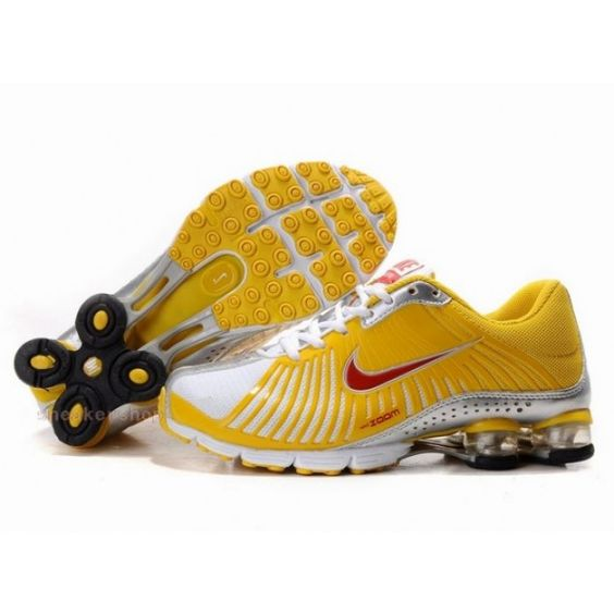 #Nike #sports Nike Air Max Shoes, Nike Womens Shoes Buy Nike Shox Experience Yellow Red White 69
