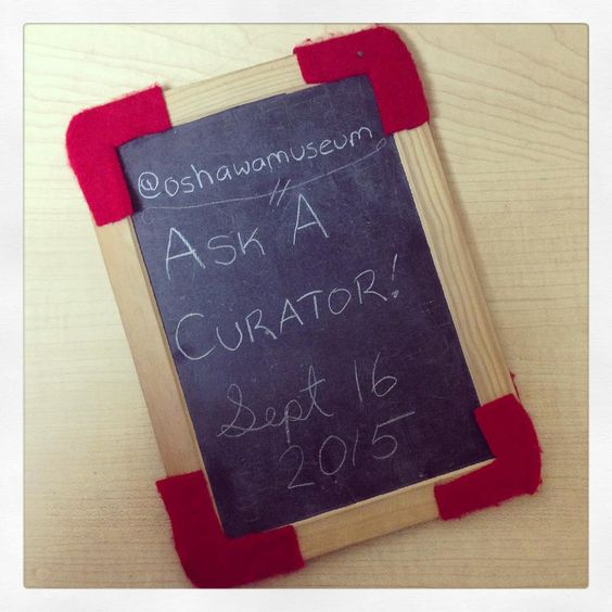 Get your questions ready! #askacurator day is Sept 16!  #museum #curator