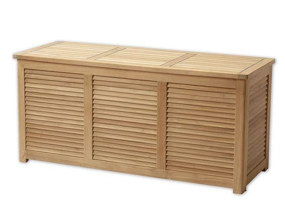 Teak Hyndebox Teak Outdoor Storage Outdoor Furniture
