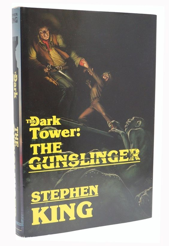 """Books are the perfect entertainment: no commercials, no batteries, hours of enjoyment for each dollar spent. What I wonder is why everybody doesn't carry a book around for those inevitable dead spots in life."" ― Stephen King  The Dark Tower The Gunslinger by Stephen King, First Edition with Signed Letter  www.RareBooksFirst.com  Rare Books from 1st Editions and Antiquarian Books  #RareBooksFirst   #RareBooks   #Quotes   #StephenKing   #DarkTower   #GunSlinger"
