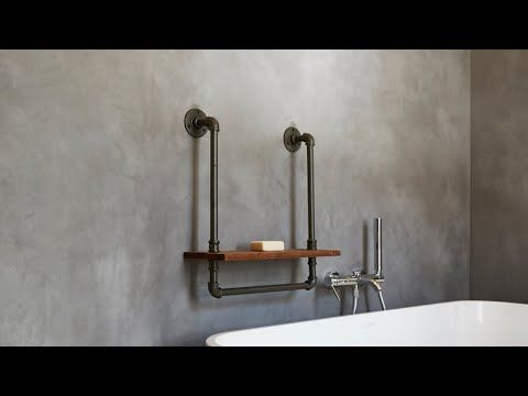 We Specialise In A Range Of Cement Based Finishes For Walls Floors Ceilings Countertops Pools As We Bathroom Wall Decor Decorating Bathroom Cement Bathroom